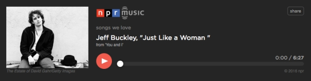 Jeff Buckley Just Like a Woman